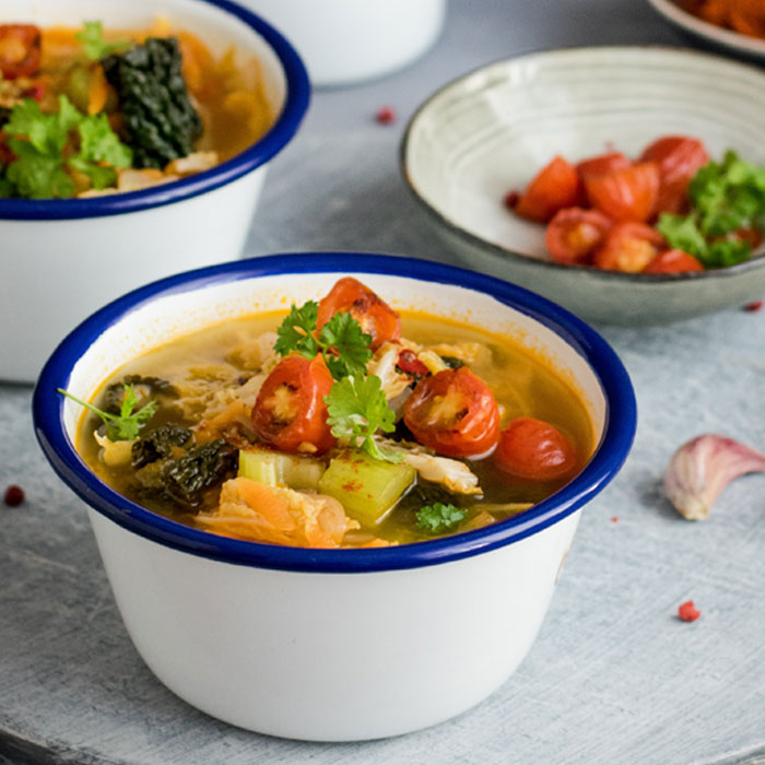 Savoy Cabbage Soup