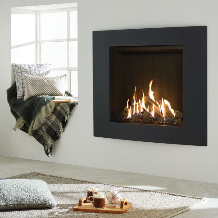 Making things simple with a gas fire